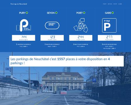 Parkings de Neuchâtel